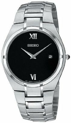 Seiko Men's Watch SKP293 Seiko. $89.99. Case Diameter - 35 MM. Water Resistant - 30 Meters(99 Feet). Crystal - Sapphlex Sapphire-Protected Glass. Movement - Japanese Quartz Movement. Save 64% Off!