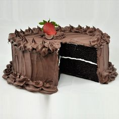 Sliced Chocolate Cake now featured on Fab.