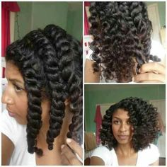 Lovely chunky twist out <==Now THIS is what healthy hair looks like.I'd LOVE for my twists to look like this, at this length, and her twist-out is just AWESOME. love the texture and shine Natural Hair Twist Out, Be Natural, Natural Hair Journey, Natural Hair Care, Natural Hair Styles, Natural Beauty, Natural Sugar, Twist Hairstyles, Cool Hairstyles