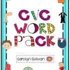 This 162 page CVC pack has everything you need to help your students master CVC words! This packet provides opportunities for whole group practice,...