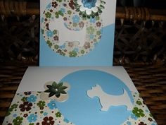 Westie dog cards  set of 6 blank cards  Choose by DaileyCreations, $8.50
