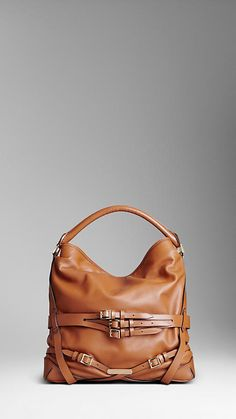 Burberry Medium bridle leather hobo F/W 2012-2013