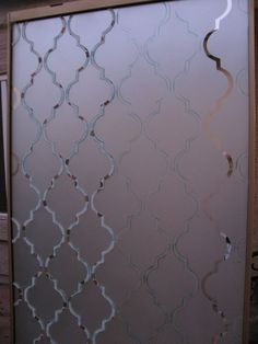 DIY frosted closet mirrors- great way to upgrade old mirror closet doors