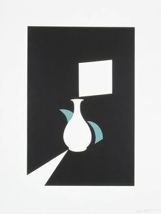 Patrick Caulfield 'Lung Ch'uan Ware and Window', 1990 © The estate of Patrick Caulfield. All Rights Reserved, DACS 2014