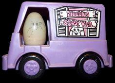 Hasbro Toys: Weebles: #526 Weebles Ghost Van