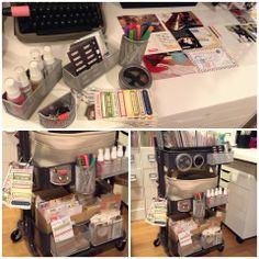 (1) Ikea Raskog Cart Organization