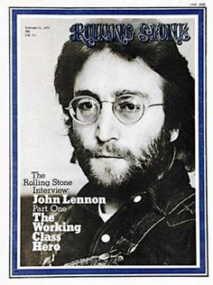 """1967 – The first issue of the magazine """"Rolling Stone"""" was published with John Lennon on the cover."""