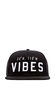 ac162c39f05 Shop for Stampd Vibes Hat in Black at REVOLVE.