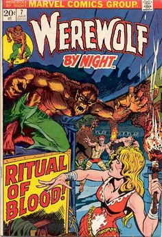 Werewolf by Night #7 Marvel Comics