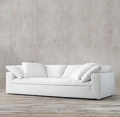 The Cloud Track Arm Sofa Found On Restoration Hardware.