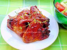 Az otthon ízei: Teriyaki csirkeszárny by Nea Tandoori Chicken, Chicken Wings, Food And Drink, Yummy Food, Meat, Ethnic Recipes, Delicious Food, Buffalo Wings