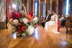 Flores Matrimonio, Iglesia / wedding flowers, church ceremony