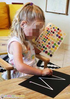 activity for kindergarten with stickers - 3 Year Old Preschool, Preschool Activities At Home, Nanny Activities, 3 Year Old Activities, Montessori Activities, Infant Activities, Toddler Preschool, Children Activities, Gremlins