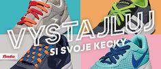 Vystajluj si svoje kecky s barevnými tkaničkami od Batě Nový Smíchov.