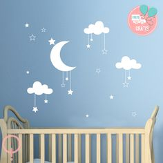 Fluffy Cloud Wall Decals, Cloud Decal, White Cloud Wall Stickers, Cloud  Nursery Decor Australian Made | Wall Sticker, Cloud And Walls