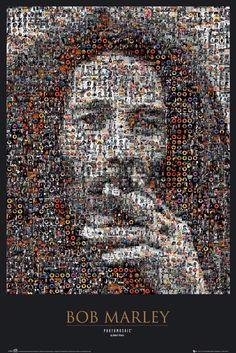 Poster: Bob Marley - mosaic online te koop. Bestel je poster, je 3d filmposter of soortgelijk product Maxi Poster