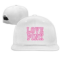 JUNJ Unisex Love Pink Golf Sun Hat Caps * Read more reviews of the product by visiting the link on the image.