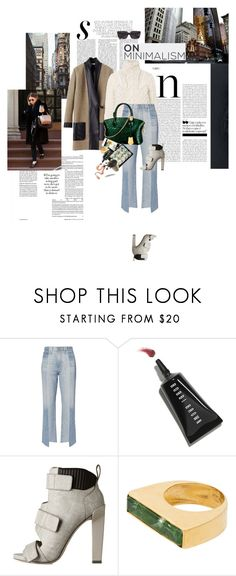 """Whatever is coming through let it come to you"" by la-rosy ❤ liked on Polyvore featuring CÉLINE, AG Adriano Goldschmied, Louis Vuitton, Bobbi Brown Cosmetics, Olsen, Alexander Wang and Katerina Makriyianni"