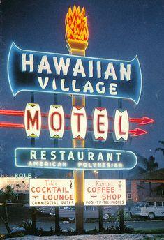 Hawaiian Village Motel #googie