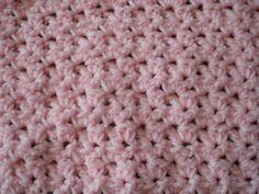 crocheted baby blanket easy pattern