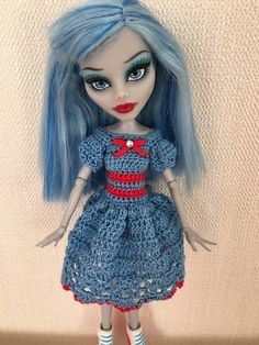 Beautiful Dress For Monster High Doll
