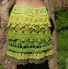 """Купить Вязаная юбка """"Майские травы"""" - зеленый, вязаная юбка, юбка вязаная"""