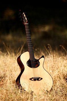 Casimi Guitars C2 Matthew Rice Signature... great looking bridge