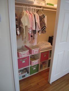 Closet shelving  Alana's & Tiffany's closets