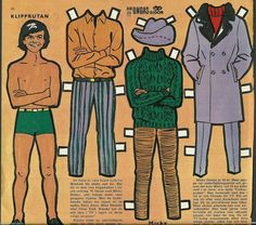 Monkees Mickey Dolenz paperdoll