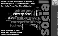 Now that our #freetips on #business #startups has come to an end we are really pleased to announce that between the 1st and 4th of April we will be having great conversations on how you can become a #social #enterprise or #social #entrepreneur! Its going to be happening right here, on our twitter feeds and in social chat! so #getamongstit and if you have anything specific you would like us to cover email jwisnewsky@entrehub.org and we'll make sure we try and cover it!