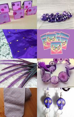 Pretty Purples--Pinned with TreasuryPin.com