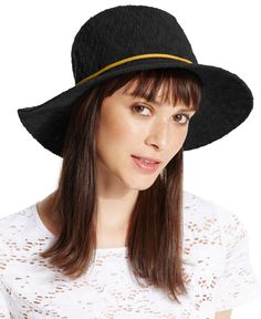 Collection Xiix Slubby Knit Panama Hat