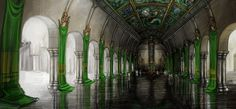 LoS - Throne Room of Tsin Kyu by pixieface on deviantART