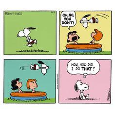 Peanuts Cartoon, Peanuts Snoopy, Peanuts Comics, Snoopy Love, Snoopy And Woodstock, Snoopy Comics, Funny Comics, Charlie Brown Comics, Snoopy Quotes