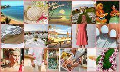 Vintage Hawaii wedding inspiration board