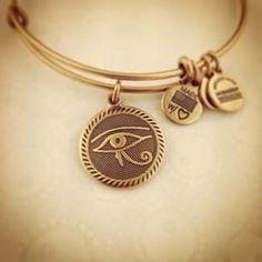 Eye of Horus Charm: #protection #light #reason #alexandani #arthursjewelers #instock