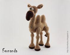 Crochet Camel - Amigurumi - Crochet Toy