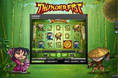 The Thunderfist slot game - Kung Fu themed I think