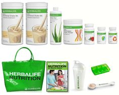 Advanced Pack is a weight management plan that helps you lose weight effectively, providing faster and more consistent results.  * This pack consists of:  2 x F1 Nutritional Shake Mix 1 x F3 Personalized Protein Powder 1 x Herbal Concentrated Aloe Vera 1 x Herbal Concentrate Tea 1 x Cell-U-Loss 1 x Total Control 1 x Shaker Cup 1 x Measuring spoon 1 x Tablet box 1 x Herbalife Tote Bag 1 x User Guide