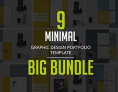 "Check out new work on my @Behance portfolio: ""Big Bundle - Graphic Design Portfolio Template"" http://be.net/gallery/45624503/Big-Bundle-Graphic-Design-Portfolio-Template"