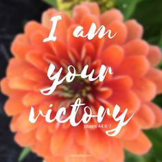 It is God who brings the victory. It is He who deserves all the credit for any strengths, abilities, or talents I may have. | inspirational quote | scripture | bible | kimtuttle.com | inspirations & encouragement for a God centered home | design organize simplify