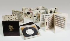 Book Art, Polaroid Film, Books, Artist's Book, Paper Folding, Artists, Art Museum, Wool Yarn, Museums