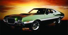 """Gran Torino - Love at first """"pin"""" Vintage Trucks For Sale, Vintage Cars, Mustang Cars, Ford Mustang, Grand Torino, Old Muscle Cars, Ford Lincoln Mercury, Ford Torino, Ford Fairlane"""