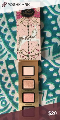 Too faced eye shadow new never used Eye shadow by too faced :) make me an offer Too Faced Makeup Eyeshadow
