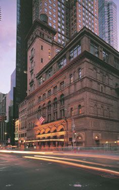 """Carnegie Hall.  The Oregon Symphony performed at the """"Spring For Music"""" Festival at Carnegie Hall in 2011."""