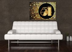 Studio 54 Party Poster: Birthday or Bachelorette Party. DIY Printable