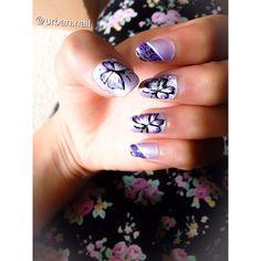 #pin#nailart#flower#spring#butterfly#instagram