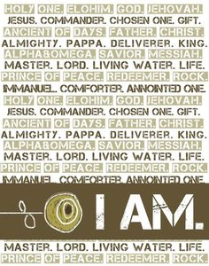 Names of God.  I'm gonna create a piece of art like this someday.