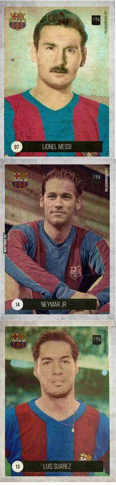 If Messi, Neymar, Suarez played in 60s'