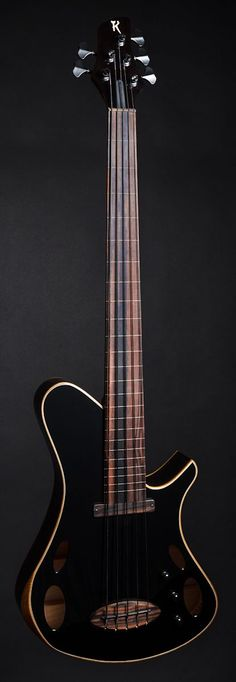 Martin Keith Guitars   Elfin Hollowbody Bass